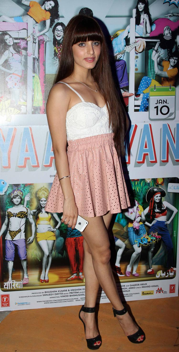 Serah Singh Hot Look During The Yaariyan Music Launch Event