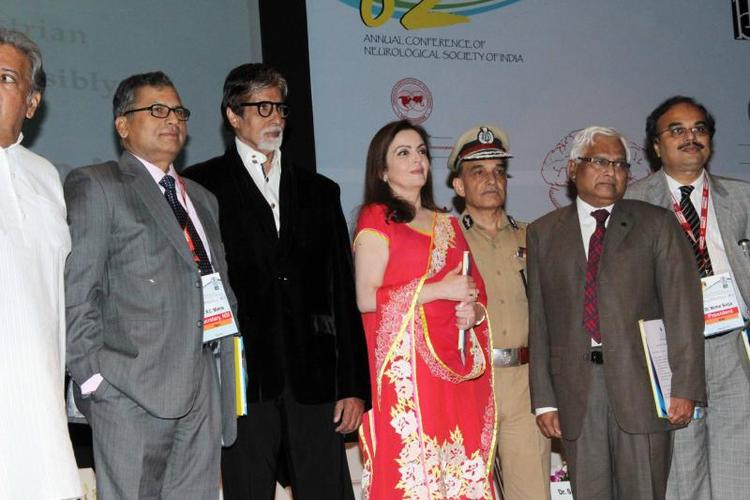Amitabh,Nita And Other Officers Attend Public Awareness Programme On Road Traffic Accident