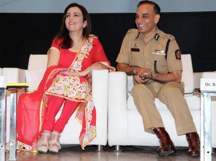 Nita Ambani At Public Awareness Programme On Road Traffic Accident Event