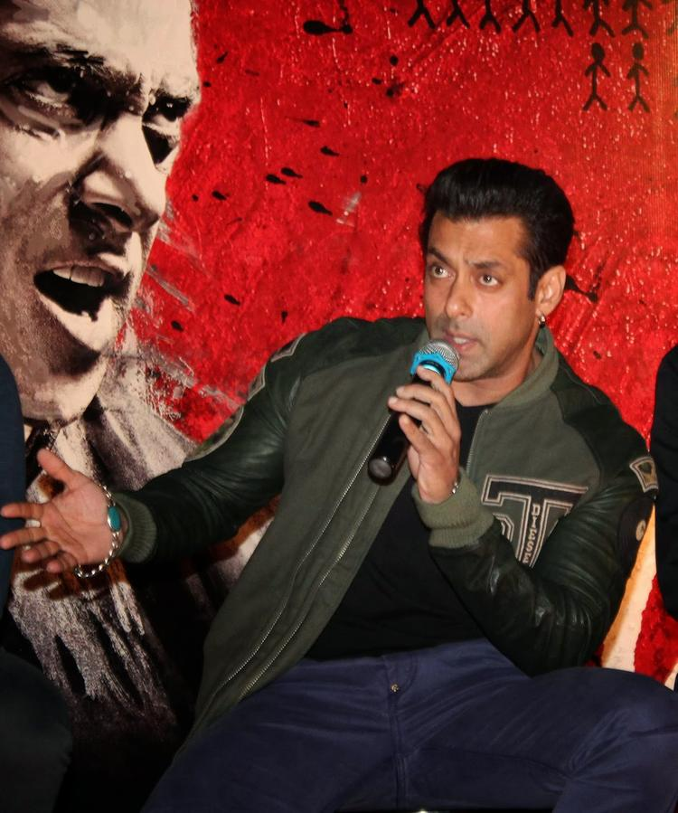 Bollywood Super Star Salman Khan At Jai Ho First Look Trailer Launch
