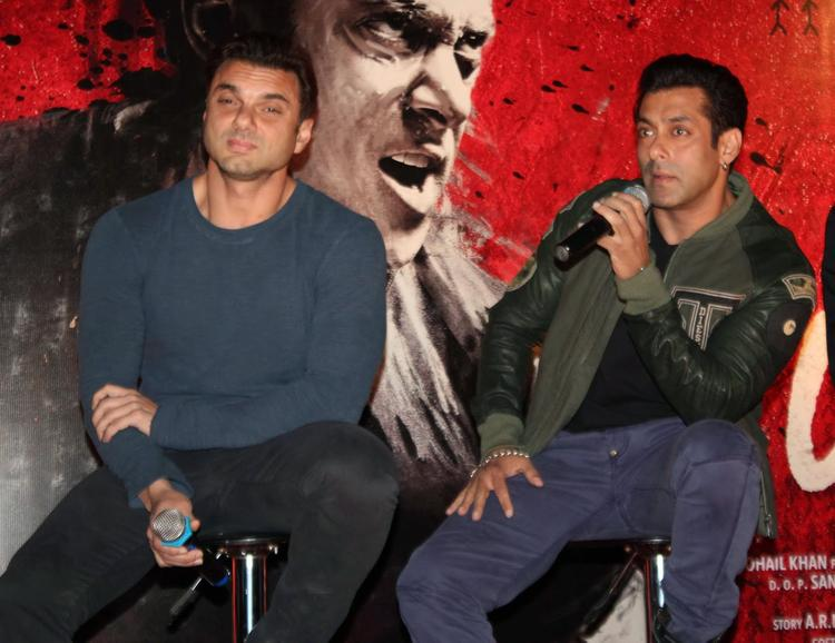 Salman Khan Interacts With Media At  Jai Ho Movie First Look Trailer Launch Event