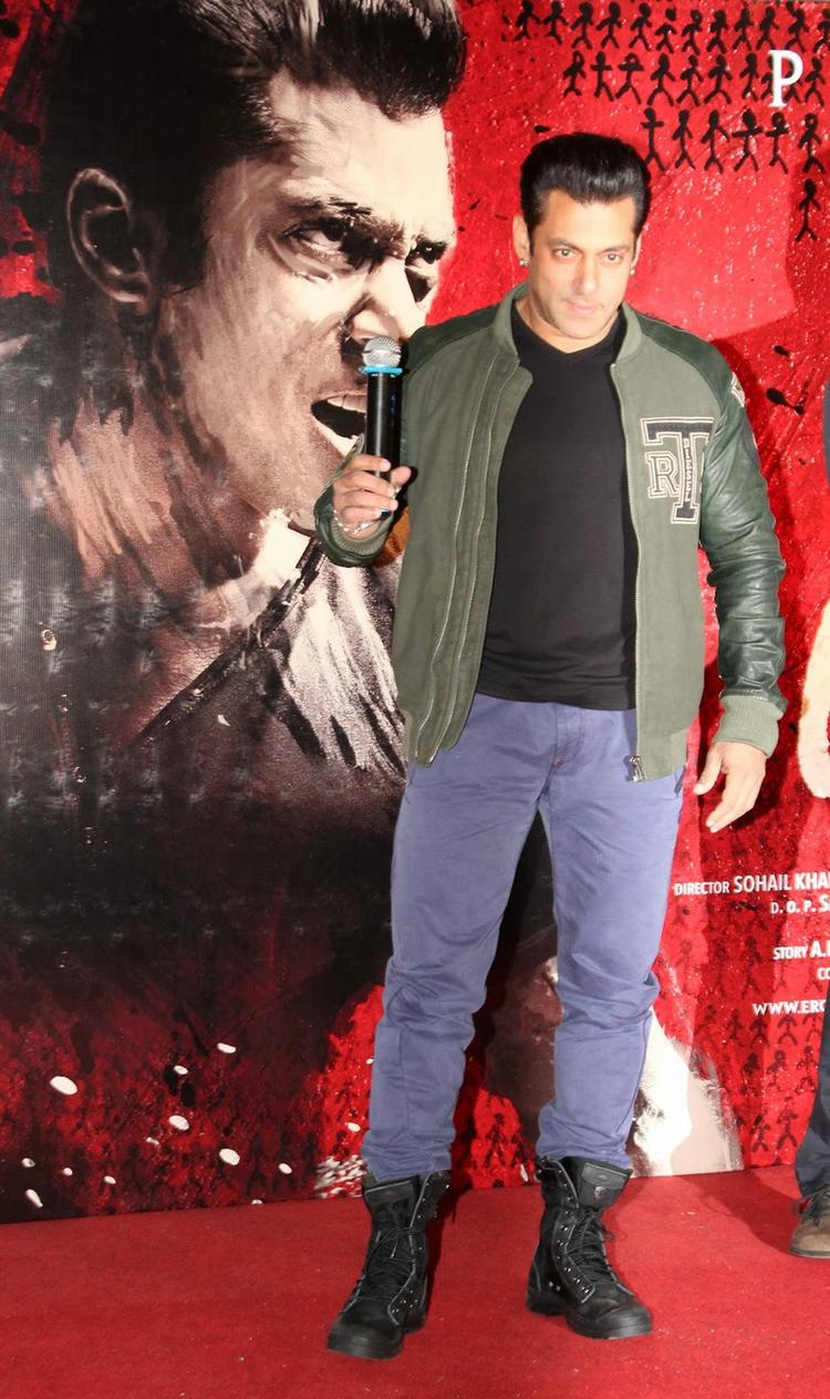 Salman Khan Launch His Upcoming Film Jai Ho First Look Trailer