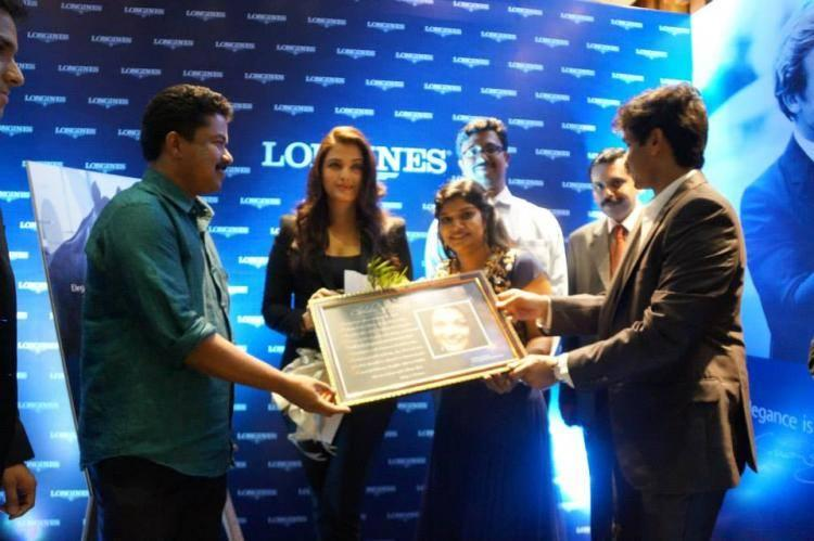 Aishwarya As Brand Ambassador For Longines Showroom Launch In Kochi
