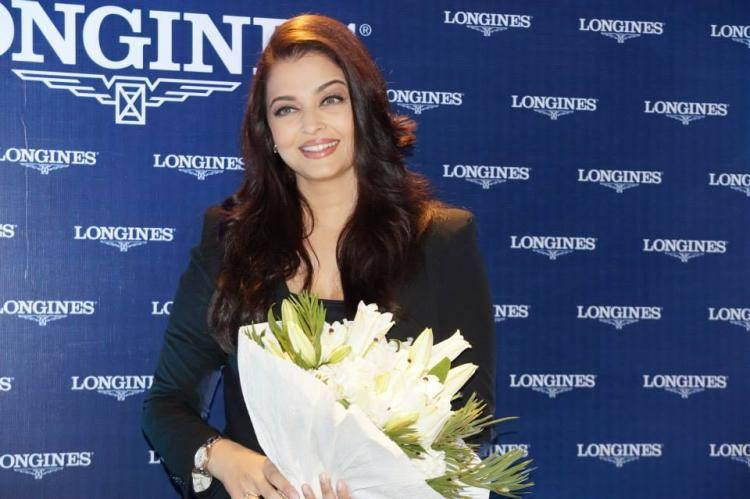 Beauty Queen Aishwarya At The Longines Showroom Launch Event In Kochi