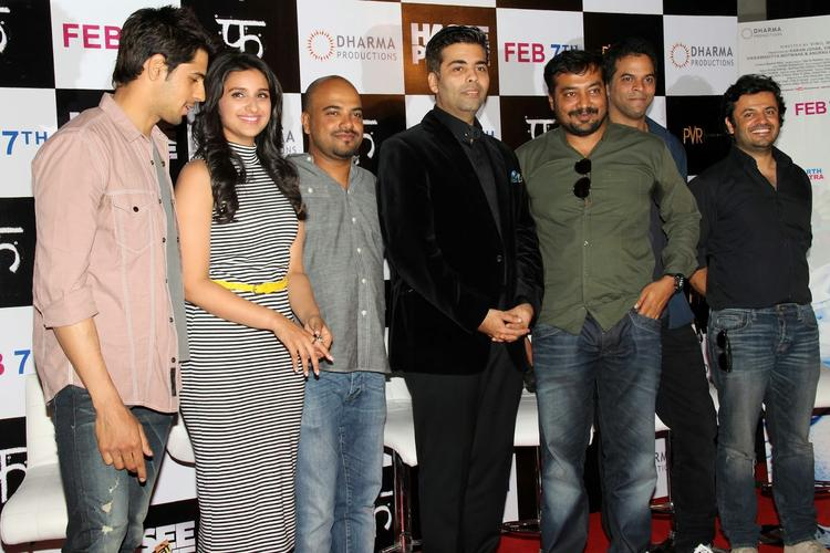 Hasee Toh Phasee Teams In Mumbai To Attend It's First Look Launch Event