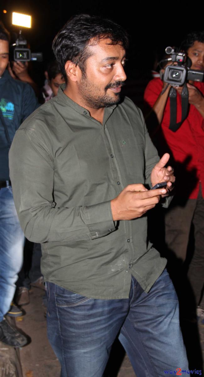 Anurag Kashyap Snapped At R Rajkumar Success Bash