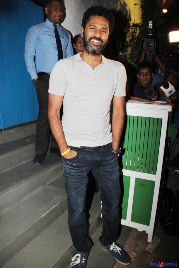 Director Prabhu Deva At R Rajkumar Success Party