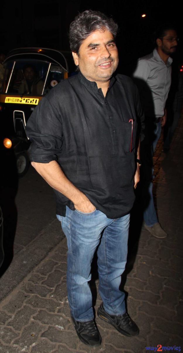 Filmmaker Vishal Bharwaj At R Rajkumar Success Bash