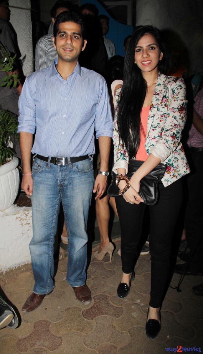Nishka Lulla Snapped At The Success Bash Of R Rajkumar