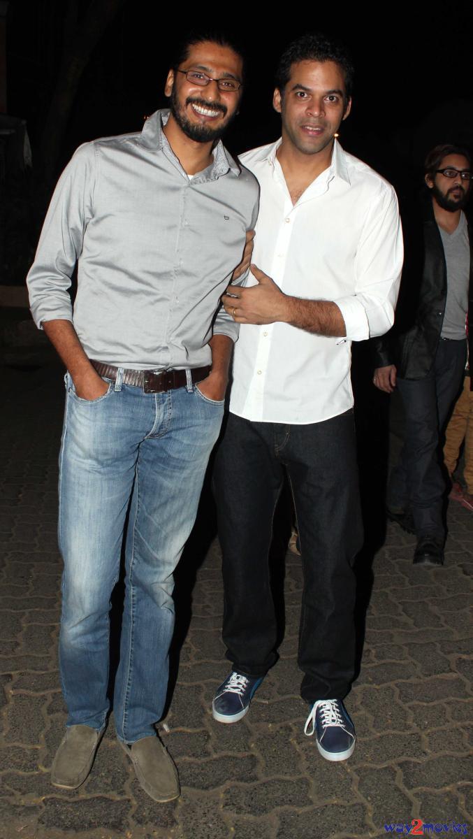 Vikramaditya Motwane, Who Was Applauded For His Film 'Lootera', Arrives At 'R..Rajkumar' Success Bash
