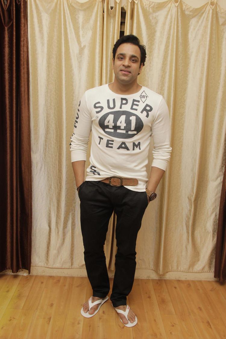Abhishek Awasthi Posed At Gurpreet Kaur Chadha Birthday Bash