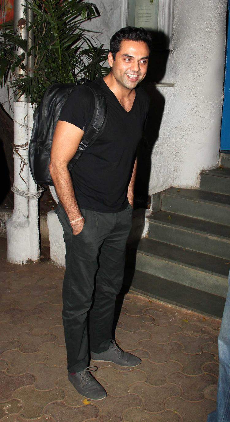 Abhay Deol Spotted At Olive Bar, Mumbai