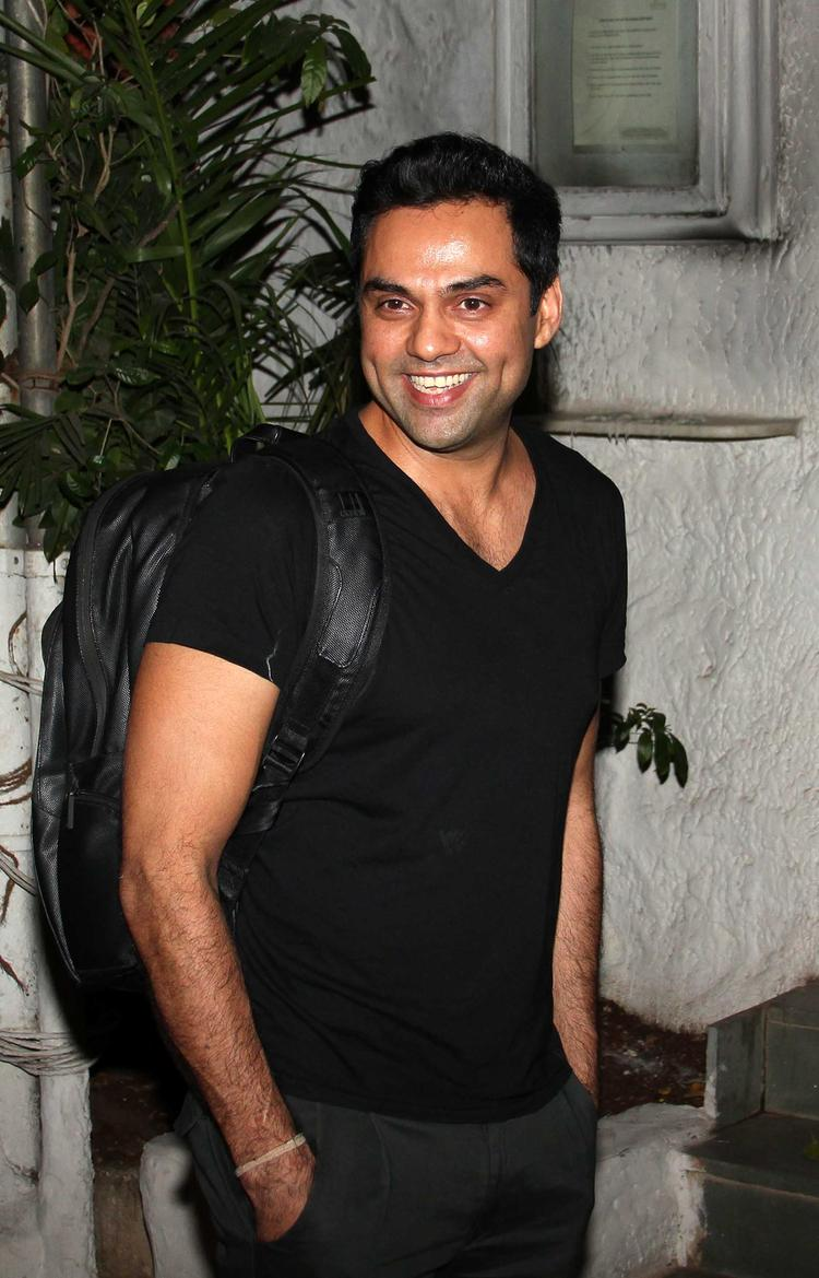 Smiling Abhay Deol Snapped At Olive Bar, Mumbai