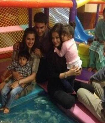Aishwarya Rai Bachchan Was Spotted Having A Blast At A Children's Indoor Play Park