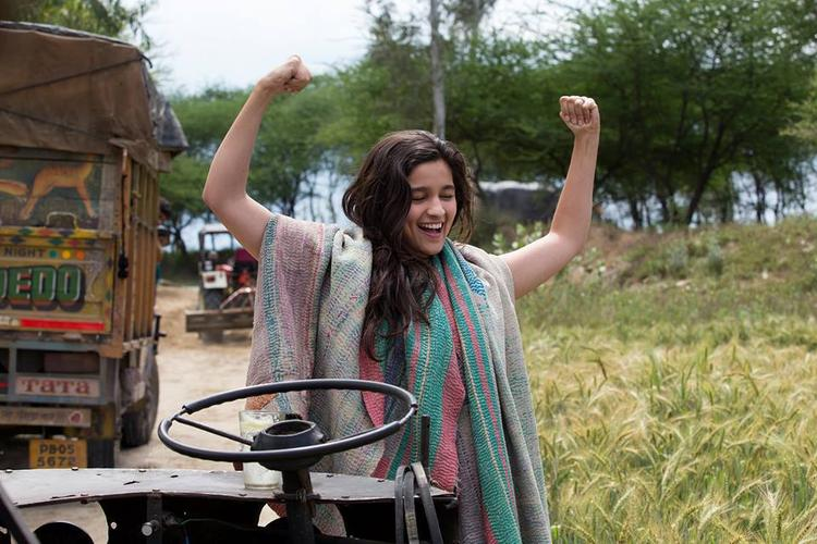 Cute Bollywood Babe Alia Bhatt Still From Film Highway