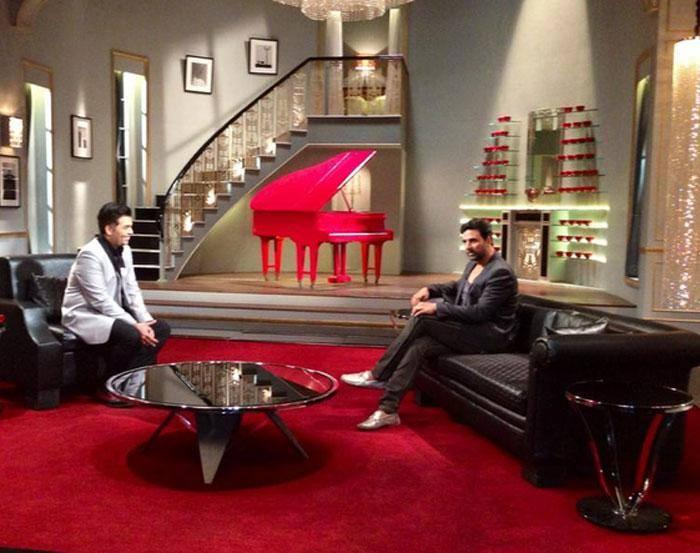 Bollywood's Original Khiladi Akshay Kumar On  Koffee with Karan Show