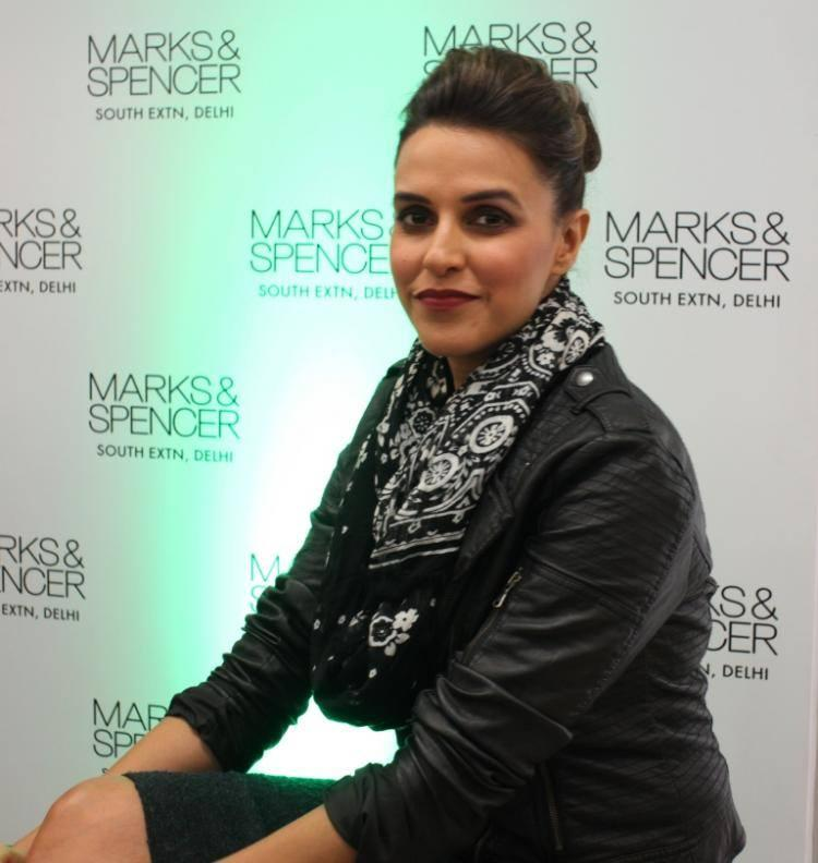 Neha Dhupia Launches New Marks And Spencer Store