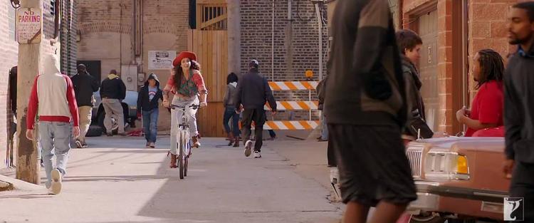 Katrina Kaif On Cycle From Dhoom 3 Movie Tu Hi Junoon Song