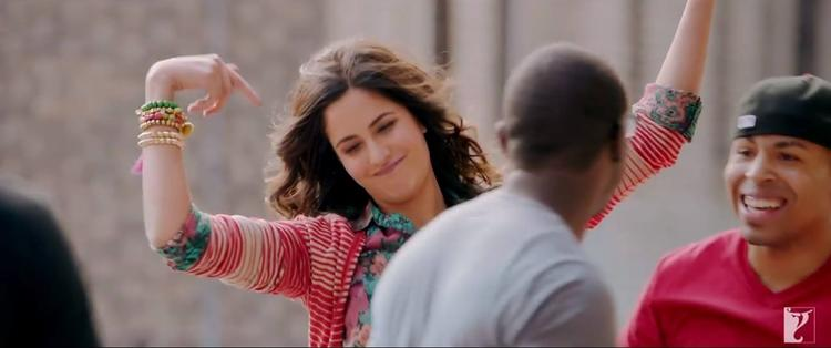 Katrina Kaif  Masti Still From Dhoom 3 Movie Tu Hi Junoon Song