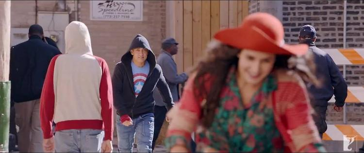 Katrina Kaif  Sweet And Sizzling Pic From Dhoom 3 Movie Tu Hi Junoon Song