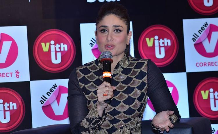 Kareena Kapoor Khan Addresses The Media At Women's Prevention App VithU Launch Event