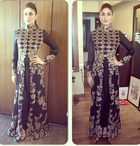 Kareena Kapoor Khan Strikes A Pose During The Launch Of Women's Prevention App VithU