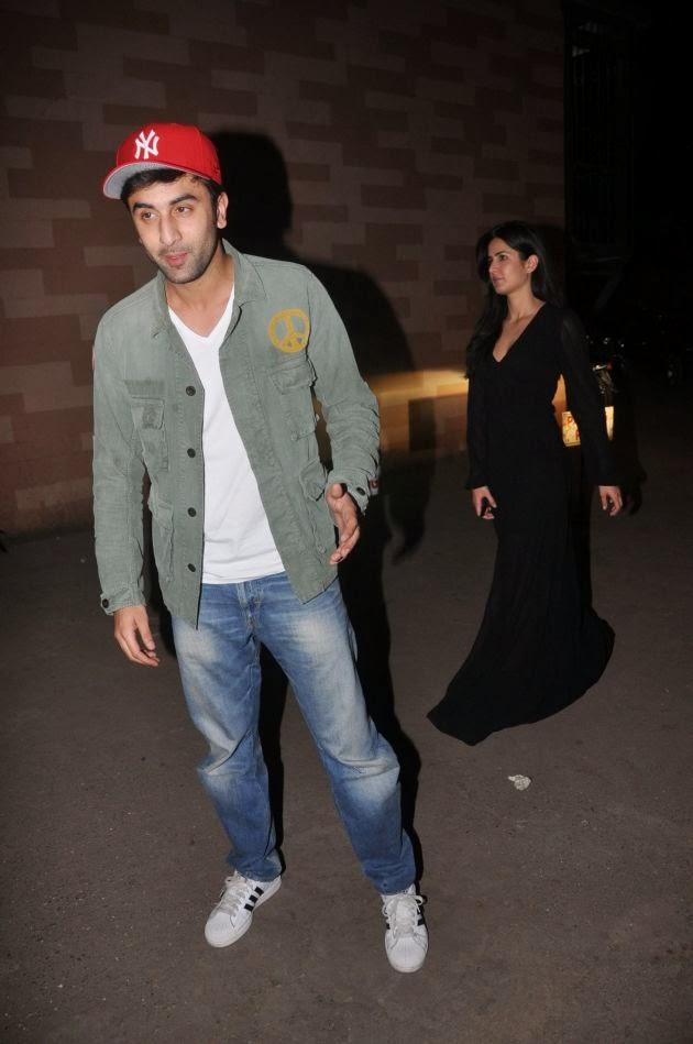 Bollywood Actor Ranbir Attended The Show With Rumoured Girlfriend Katrina Kaif