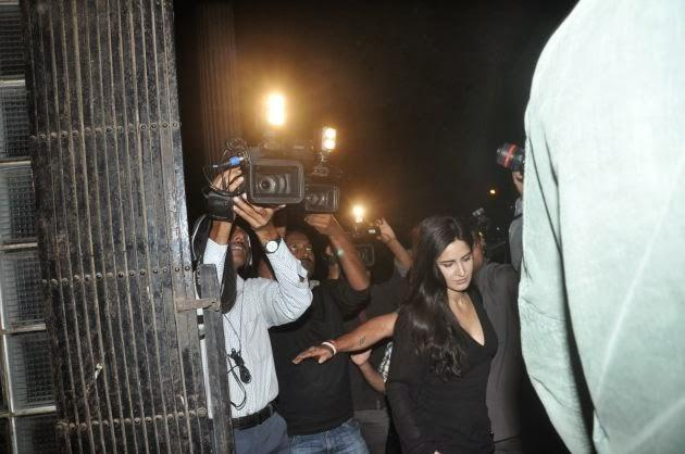 Katrina Kaif Arrives At The Special Screening Of The Hollywood Movie The Wolf Of Wall Street