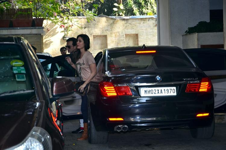 Kareena And Saif Ali Khan At Shashi Kapoor's Christmas Brunch