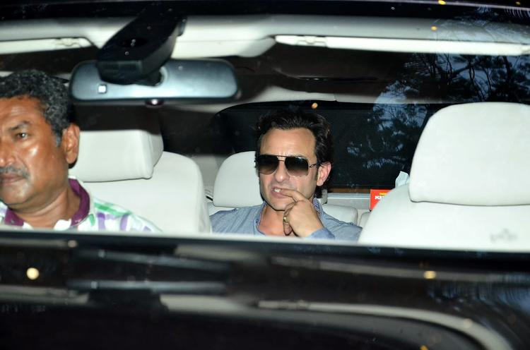Saif Ali Khan Attend Shashi Kapoor's Christmas Brunch