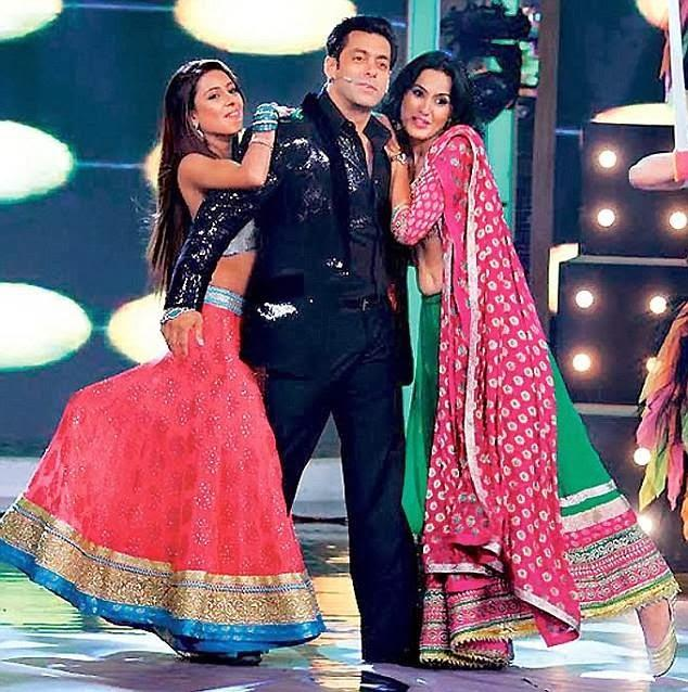 Salman Khan Performs With Bigg Boss House-Mates At The Grand Finale