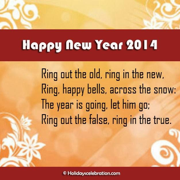 New Year 2014 Wishes Card