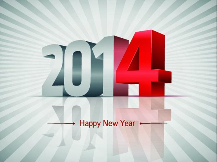 New Year 2014 Wishes For Peace, Joy And Good Cheer Through Greeting Cards