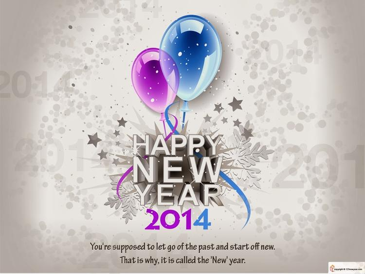 Wish You A Happy New Year 2014 Wallaper
