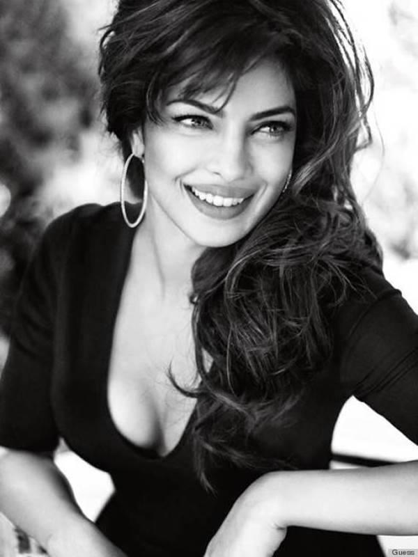 Priyanka Chopra Sweet Smile Dashing Pic Photo Shoot For Magazine