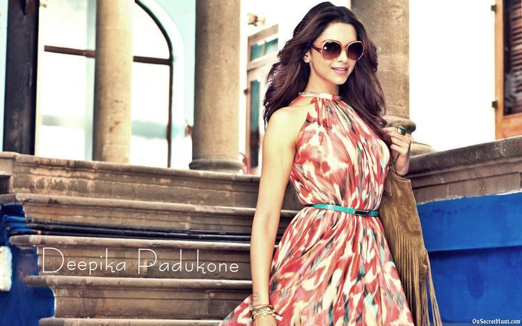 Deepika Padukone Glamour Look Photo Shoot For Vogue Eyewear