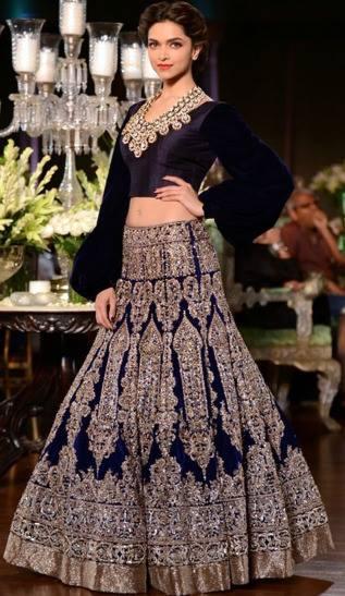 Deepika Padukone Walk For Bridal Collection By Manish Malhotra