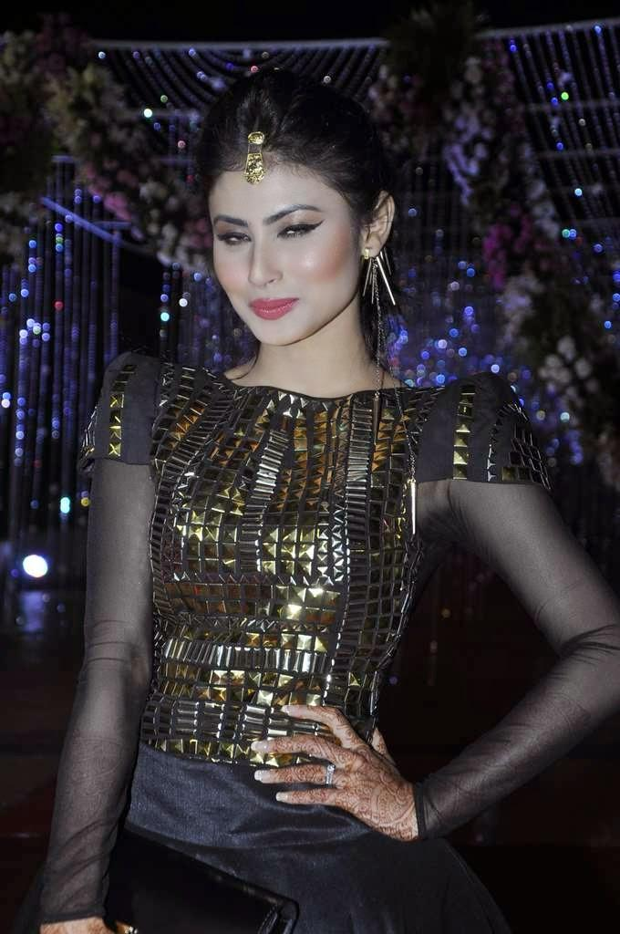 Mouni Roy Stunning Pic At Aamna And Amit Wedding Reception