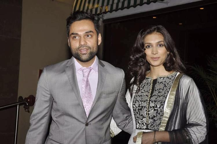 Preeti And Abhay Attend Aamna Sharif And Amit Wedding Reception