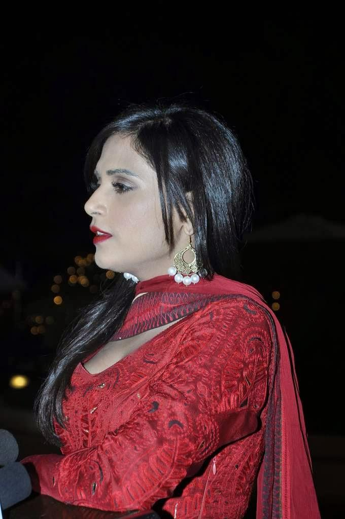 Richa Chadda Snapped At Aamna And Amit Wedding Reception