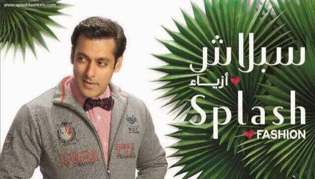 Bollywood Actor Salman Khan For Splash Spring 2014 Campaign