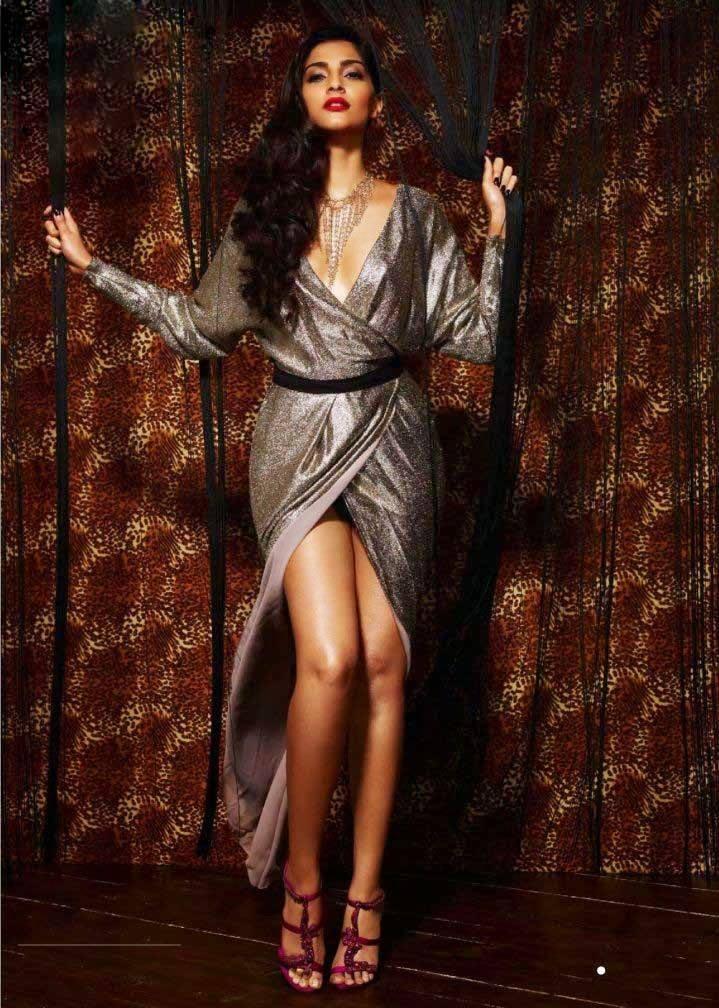 Sonam Kapoor Latest Spicy Look Photo Shoot