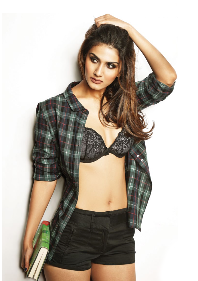 Charming Vaani Kapoor HQ Photo Shoot For FHM Magazine India January 2014
