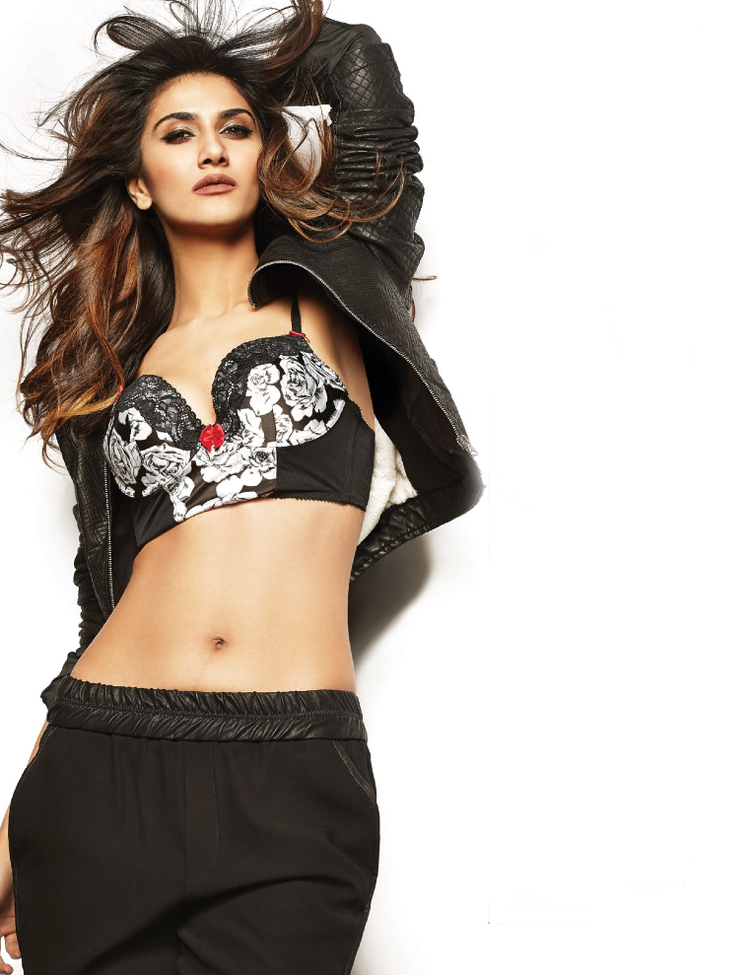 Vaani Kapoor Sexy Pose Hot Photo Shoot For  FHM Magazine India January 2014