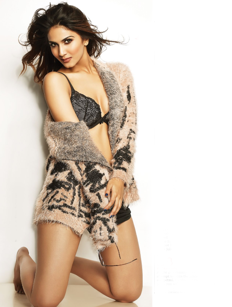Vaani Kapoor Sizzling Sexy Look Photo Shoot For FHM Jan 2014 Issue