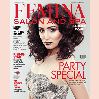 Yami Gautam Hot Look On The Cover Of Femina January 2014 Issue
