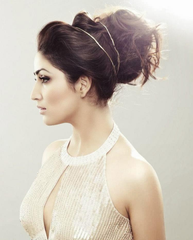 Yami Gautam Show Her Hair Style On The Cover Of Femina Jan 2014 Issue