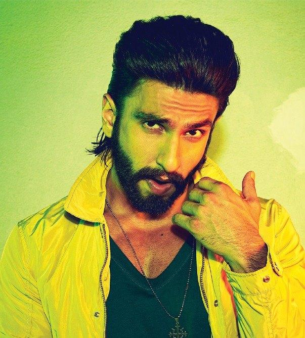 Ranveer Singh Cool Dazzling Face Look For Filmfare January 2014 Issue