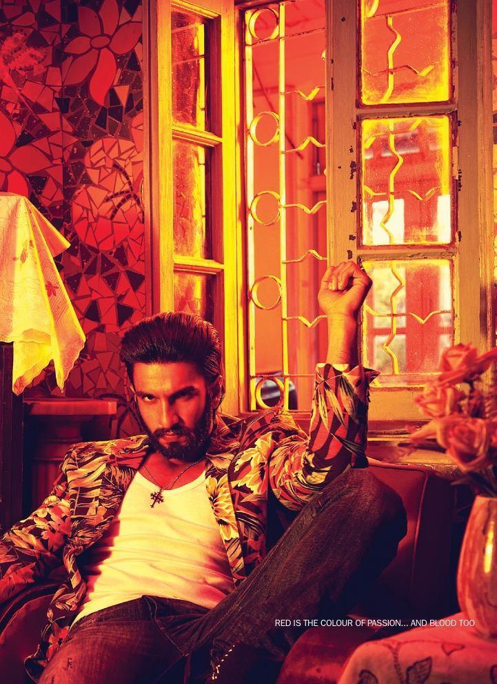 Ranveer Singh Hot Spicy Look Shoot For Filmfare January 2014 Issue