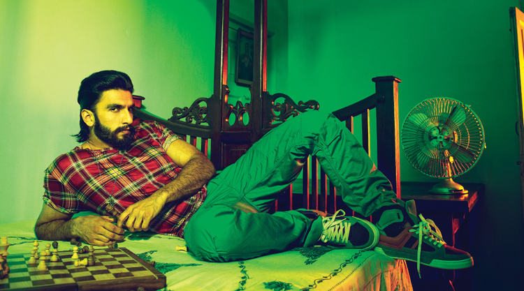 Ranveer Singh Latest Photo Shoot For Filmfare January 2014 Issue